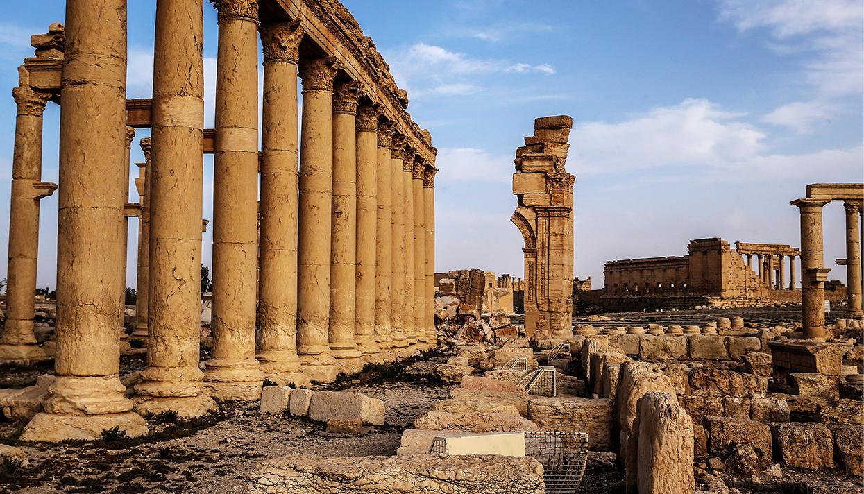 Город Пальмира в Сирии