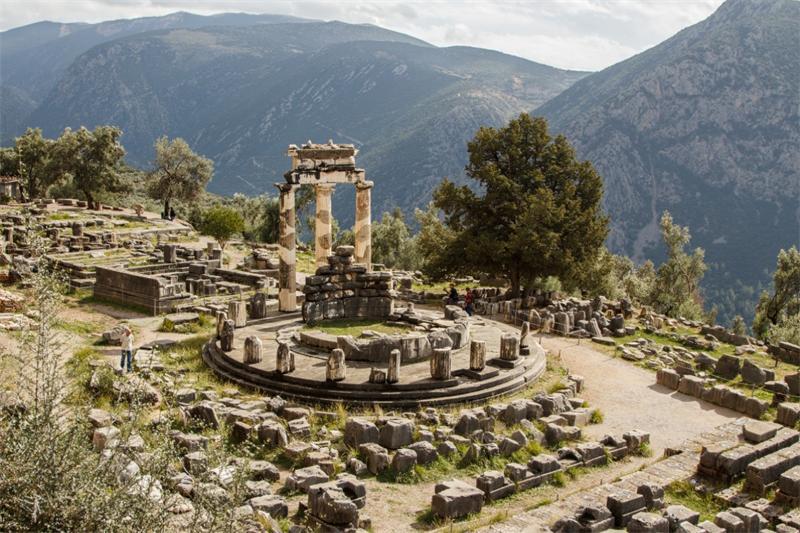 Руины святилища Апполона
