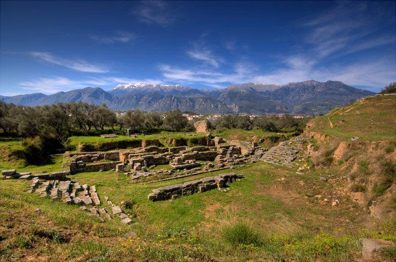 Руины Спарты