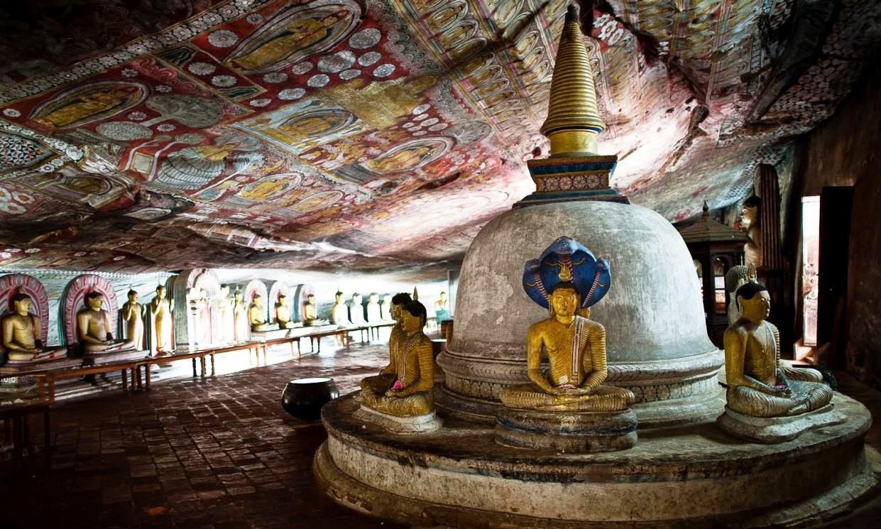 Золотой храм Дамбулла
