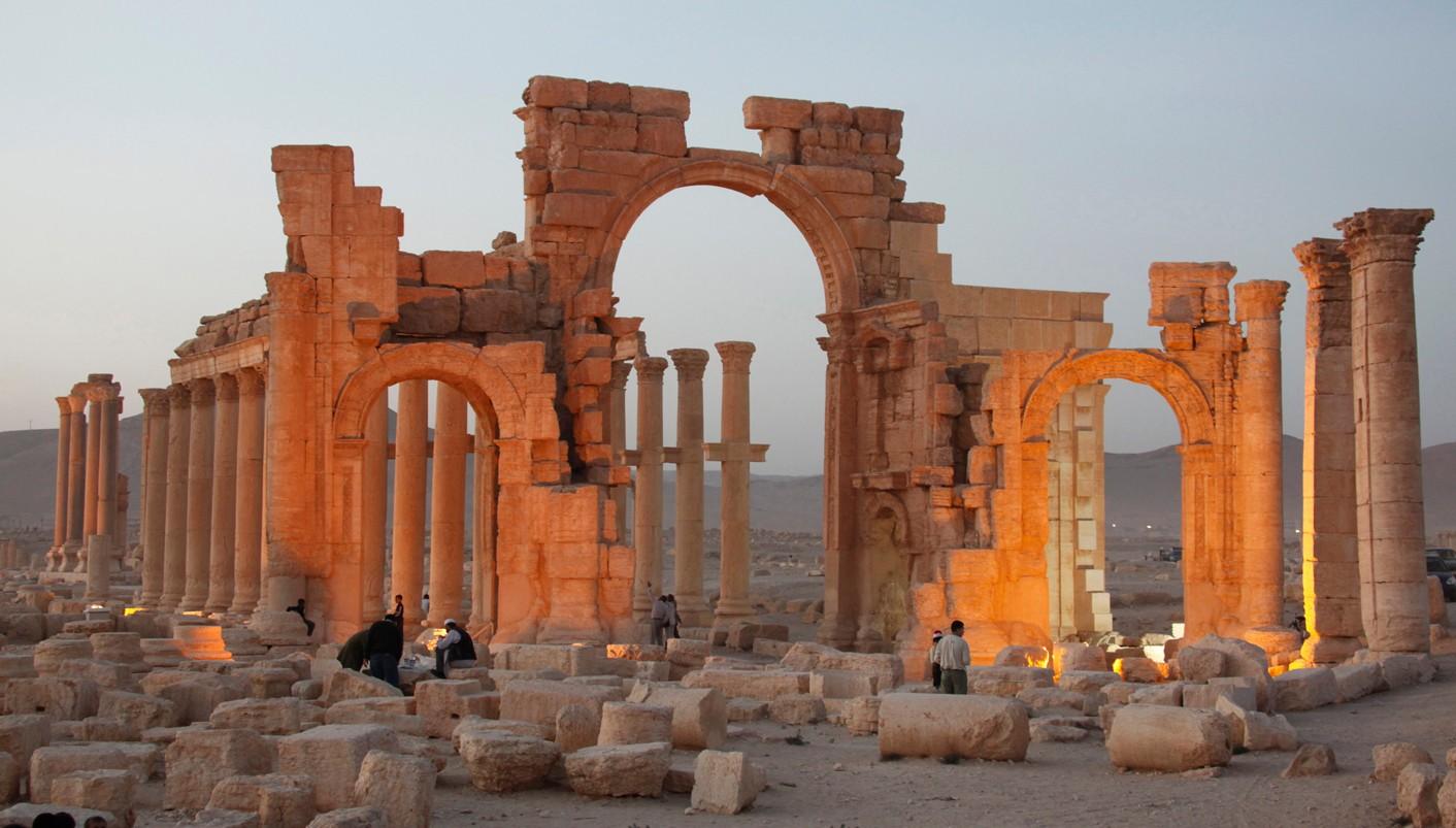 Пальмира город в Сирии