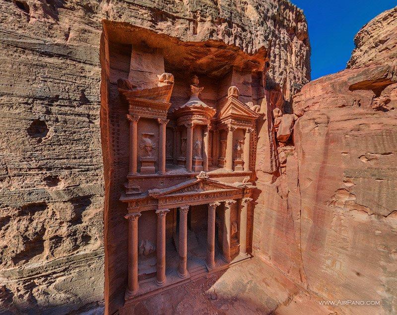 Древний город в Иордании