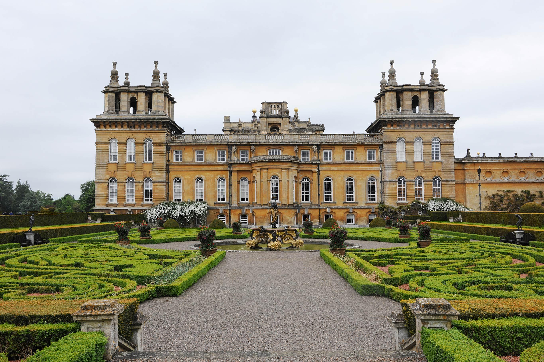 Дворец Бленхейм - описание и история