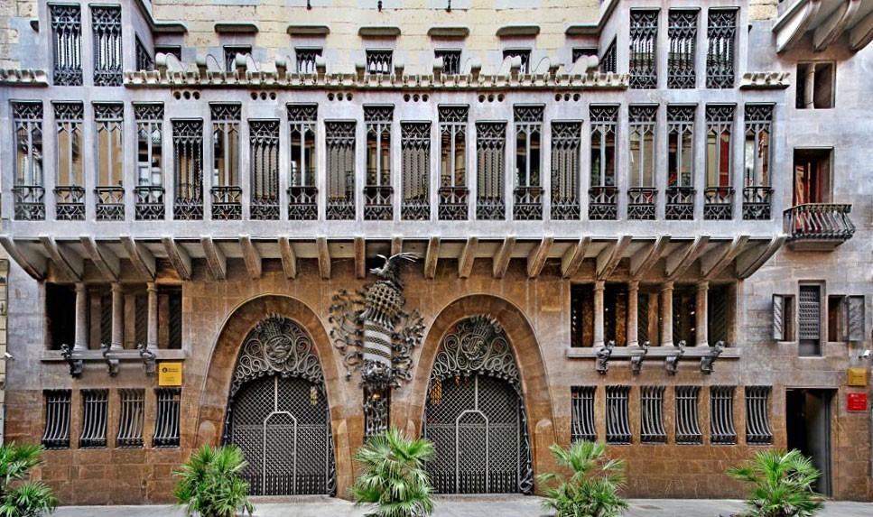 Дворец Гуэль - описание, история