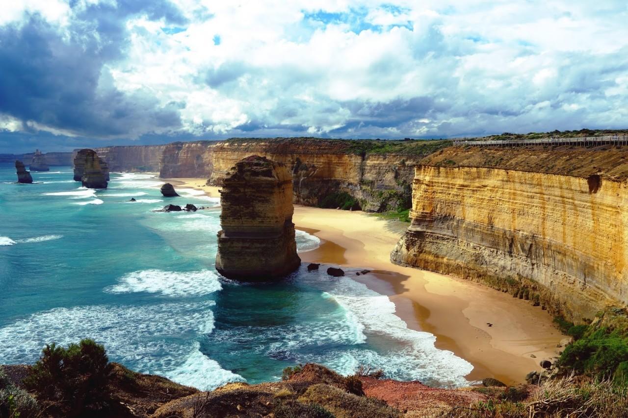 Скалы 12 апостолов Австралия