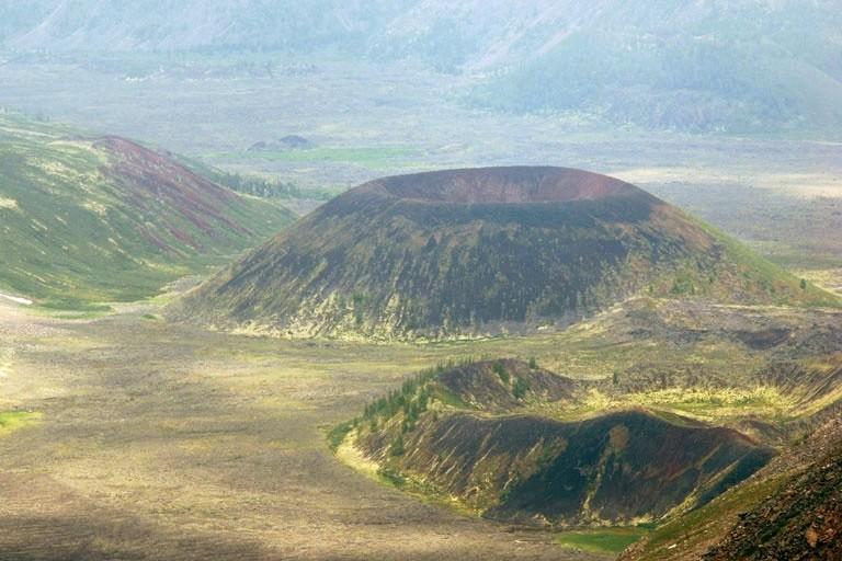 Долина вулканов в Бурятии
