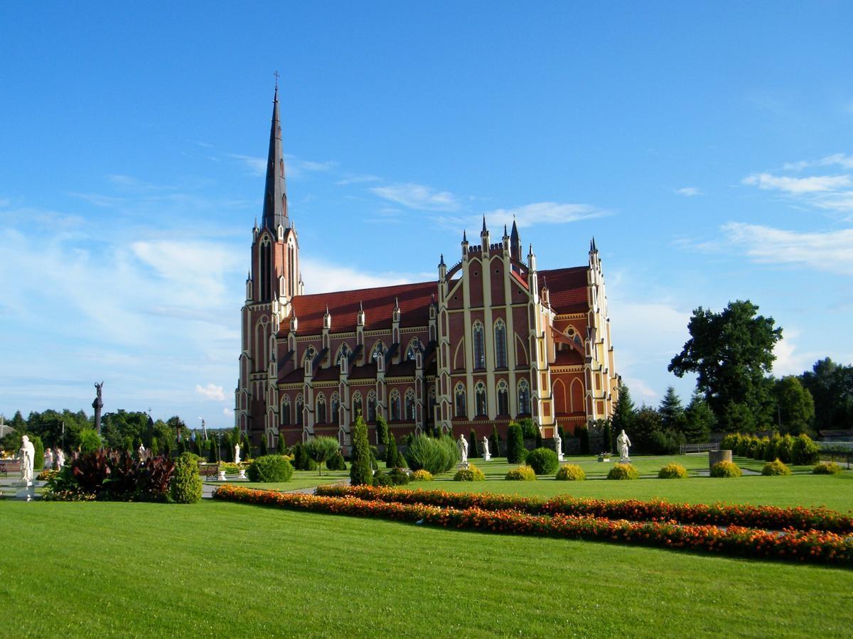 Костел святой троицы в Гервятах