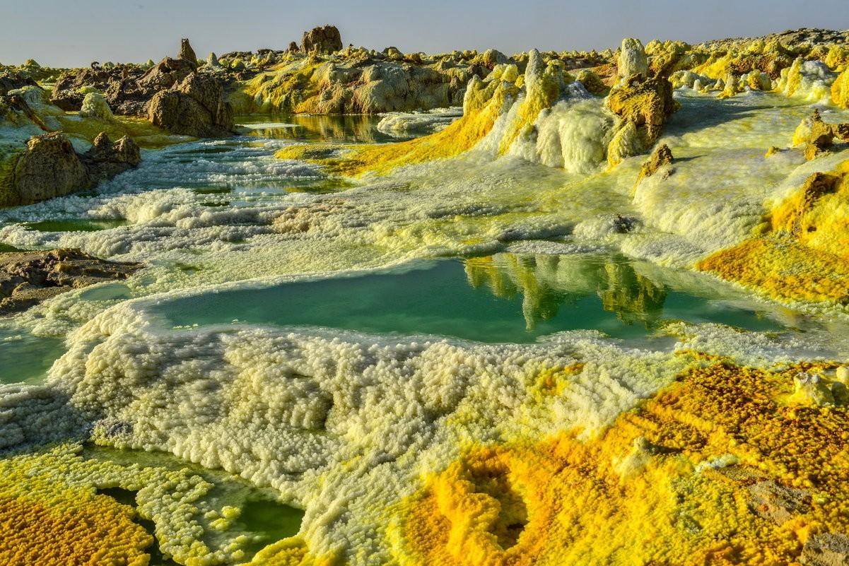 Эфиопская пустыня Данакиль