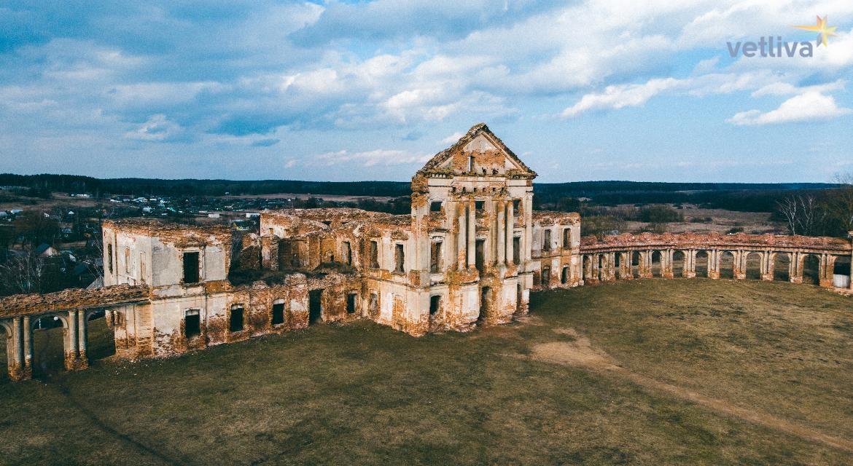 Дворцовый комплекс Сапег в Ружанах