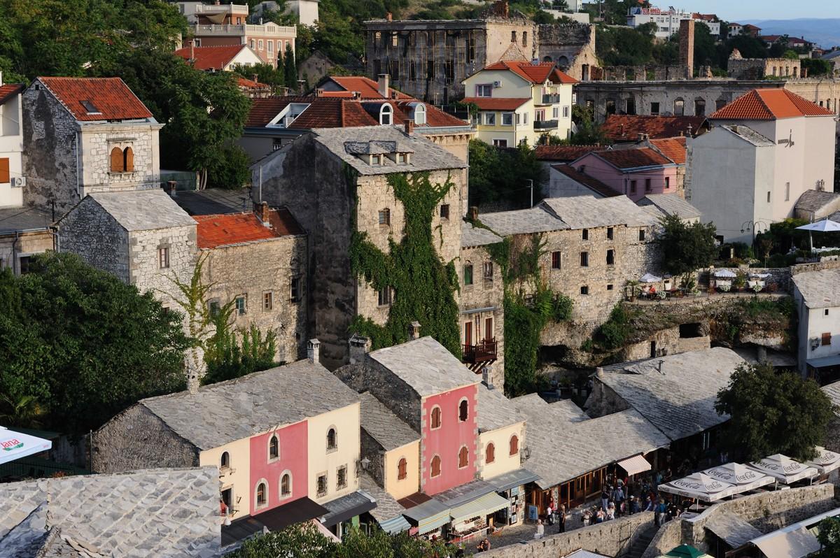 Район «Старый город» в Мостаре