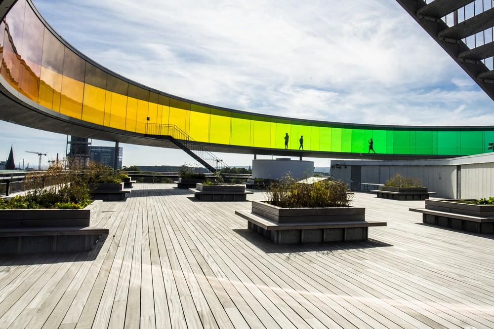 Музей современного искусства в городе Орхус