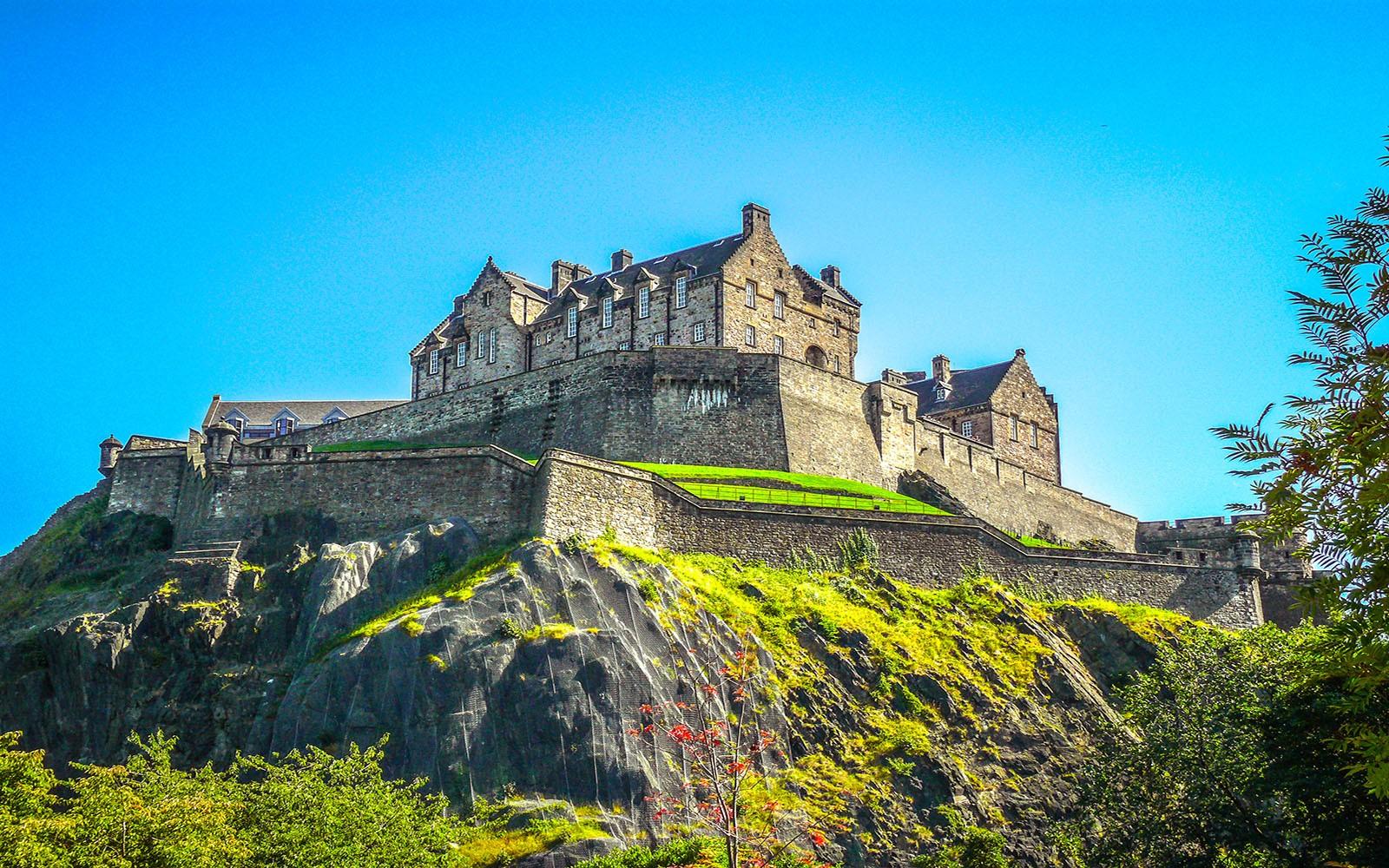 Эдинбургский замок (Эдинбург, Шотландия)