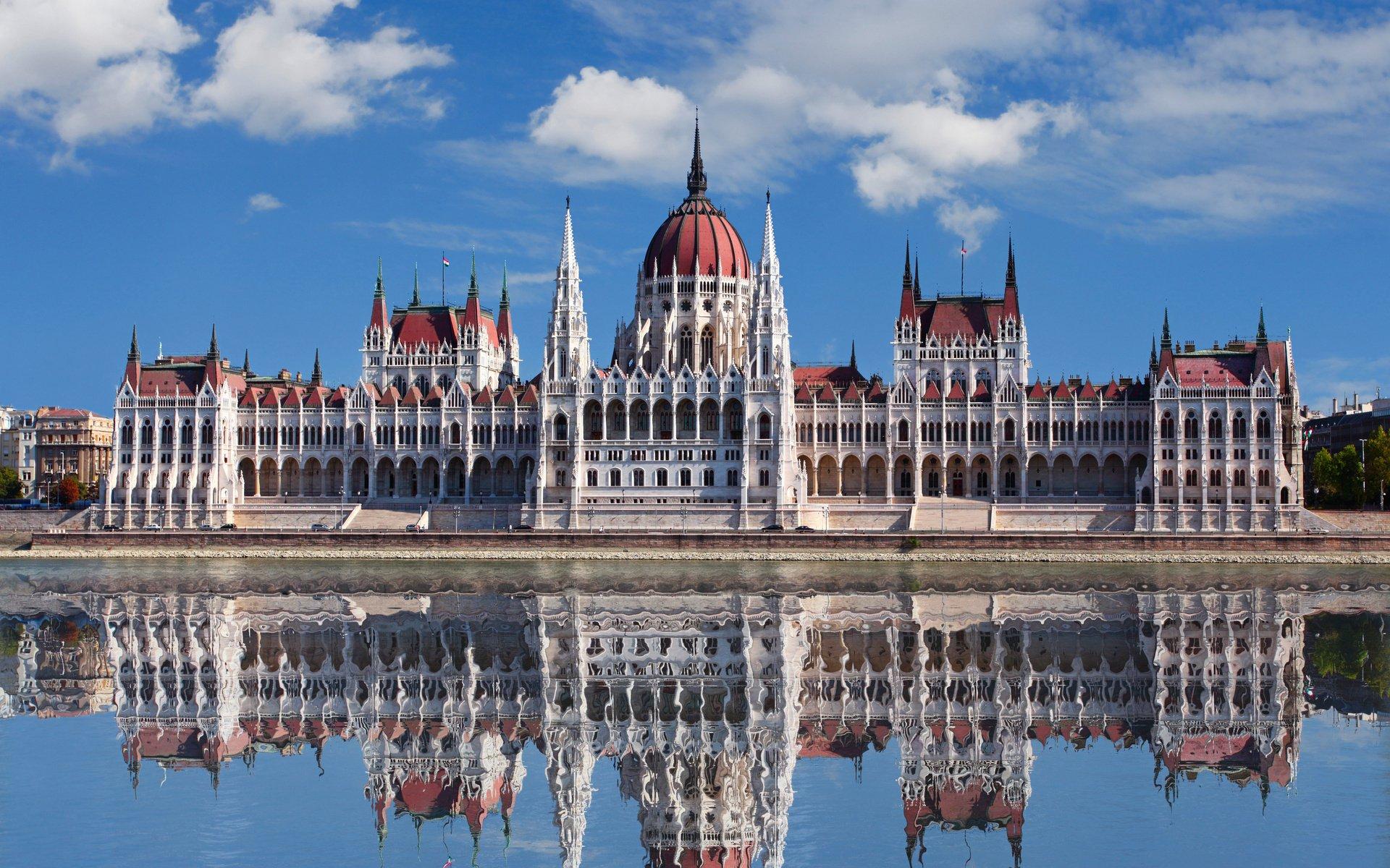 Здание Парламента Венгрии (Будапешт, Венгрия)