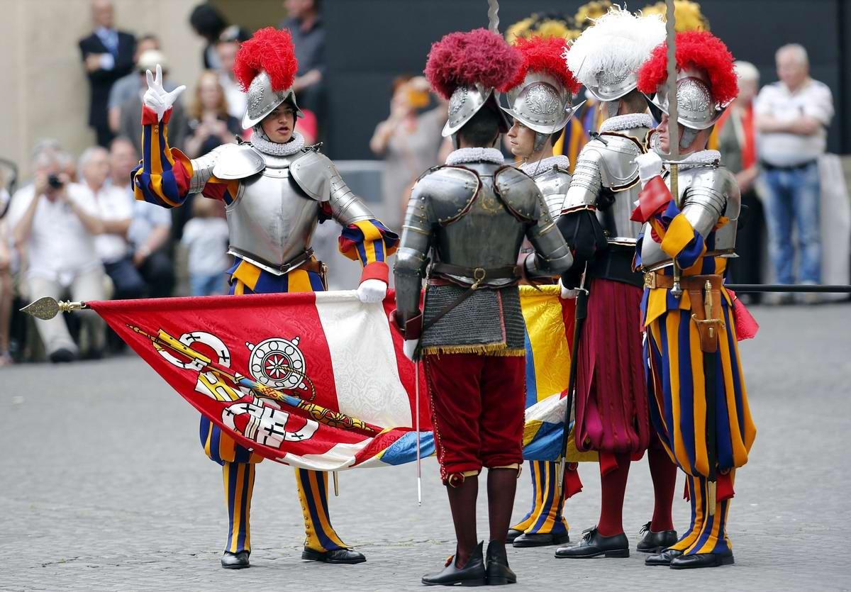 Швейцарская гвардия Ватикана