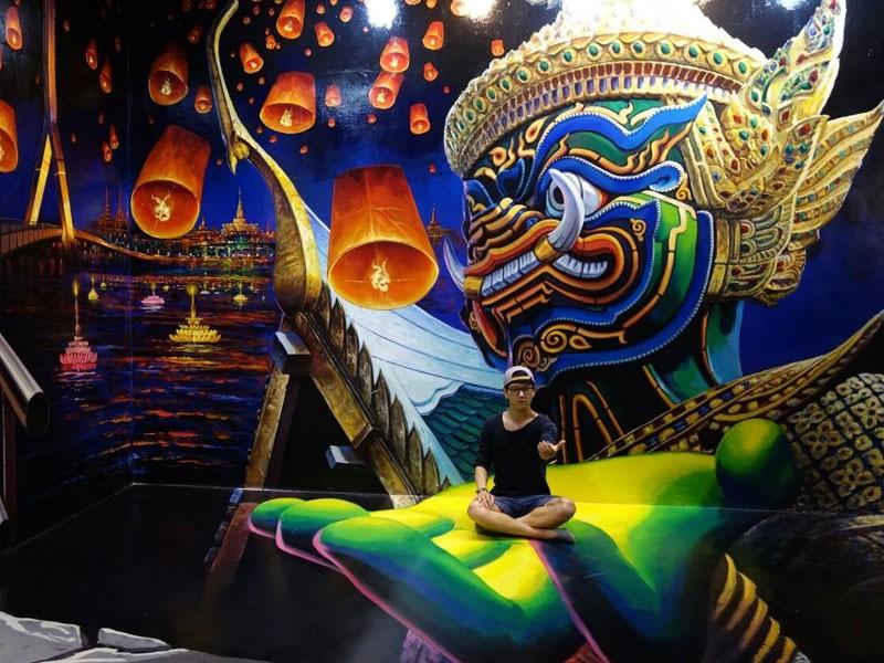 3D галерея «Искусство в раю»