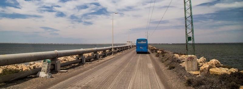 Римская дорога к острову Джерба