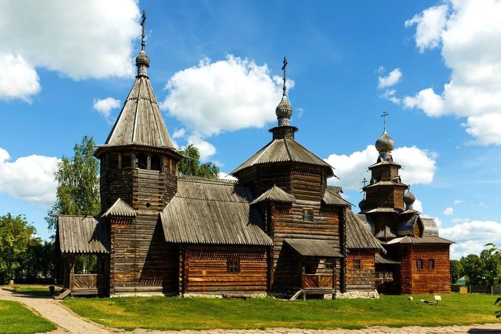 Суздальский музей деревянного зодчества