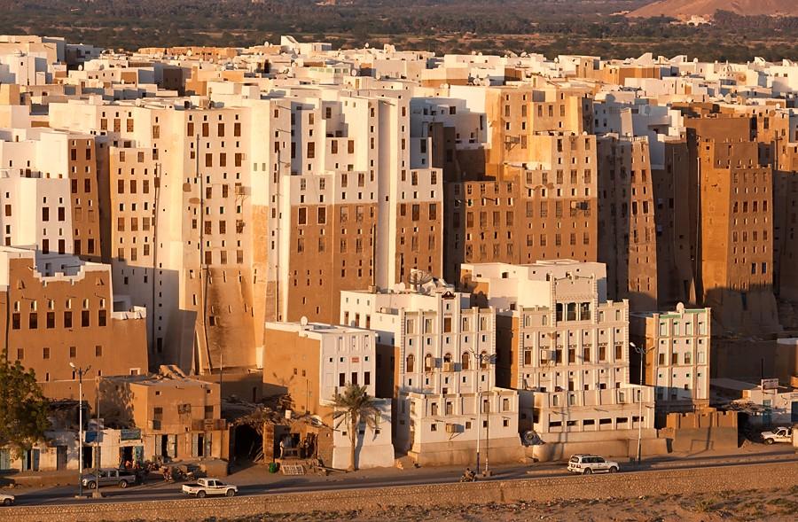 Шибам - глиняный «Менхеттен» Йемена
