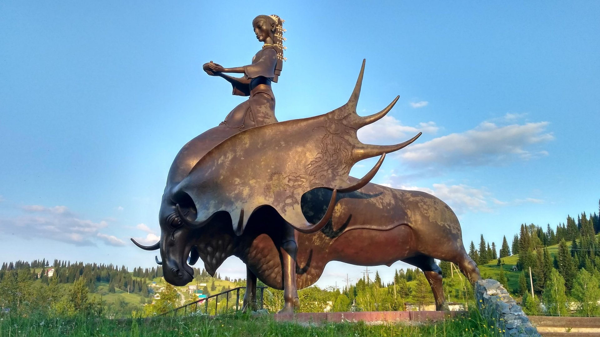 Памятник Золотая Шория