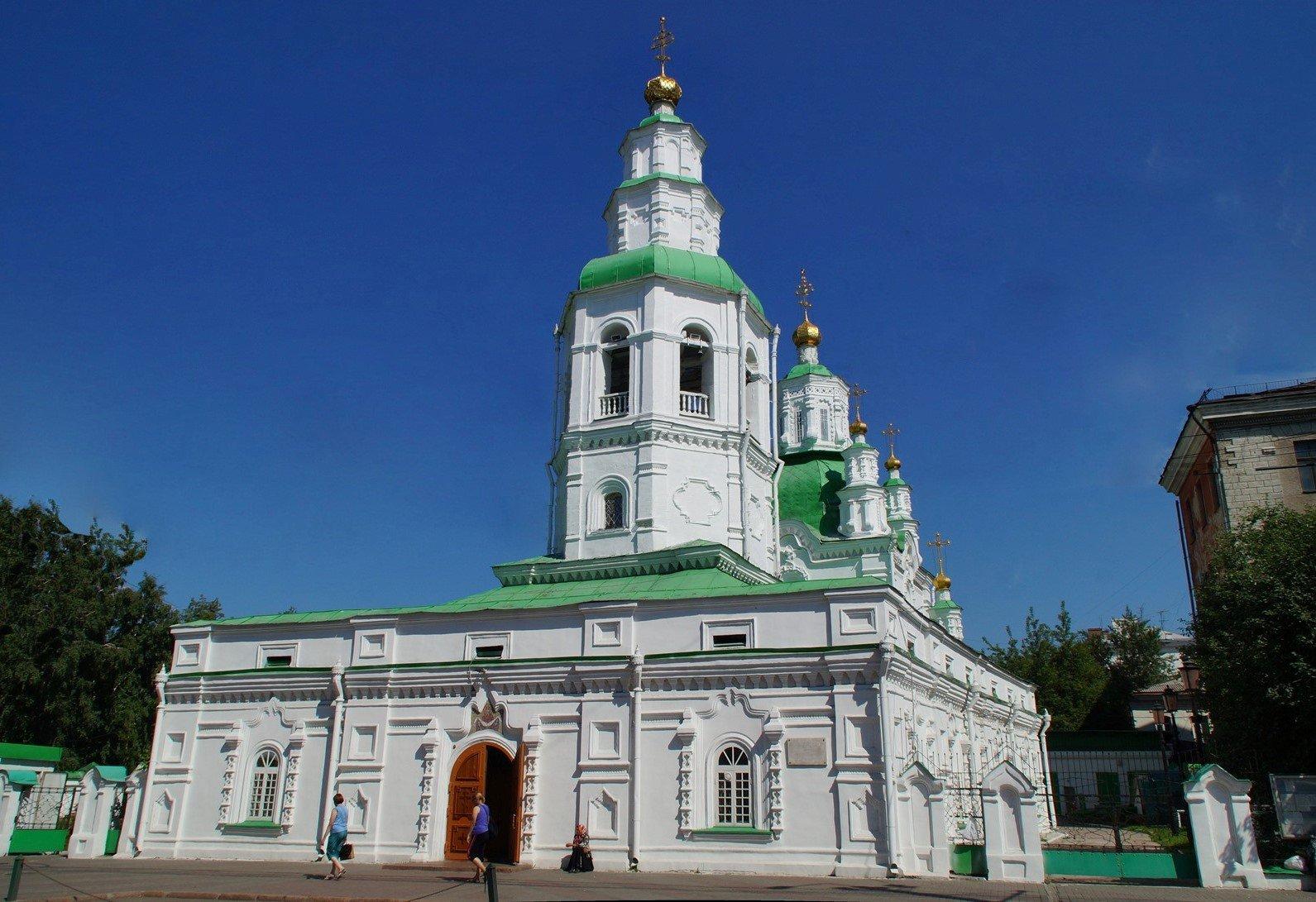 Покровская церковь в Красноярске