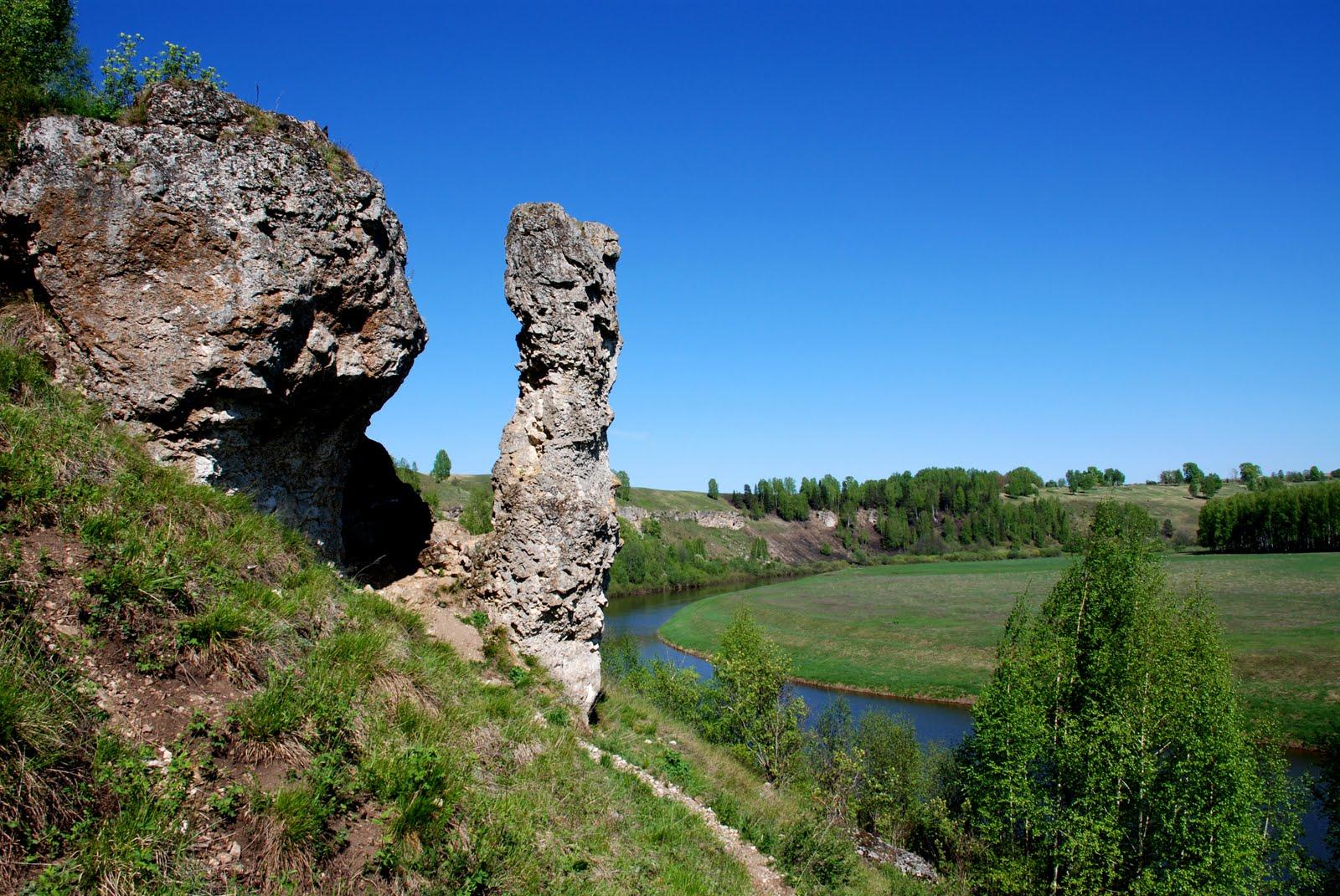Скальный массив Камень