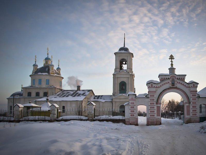 Районный центр Парфеньево