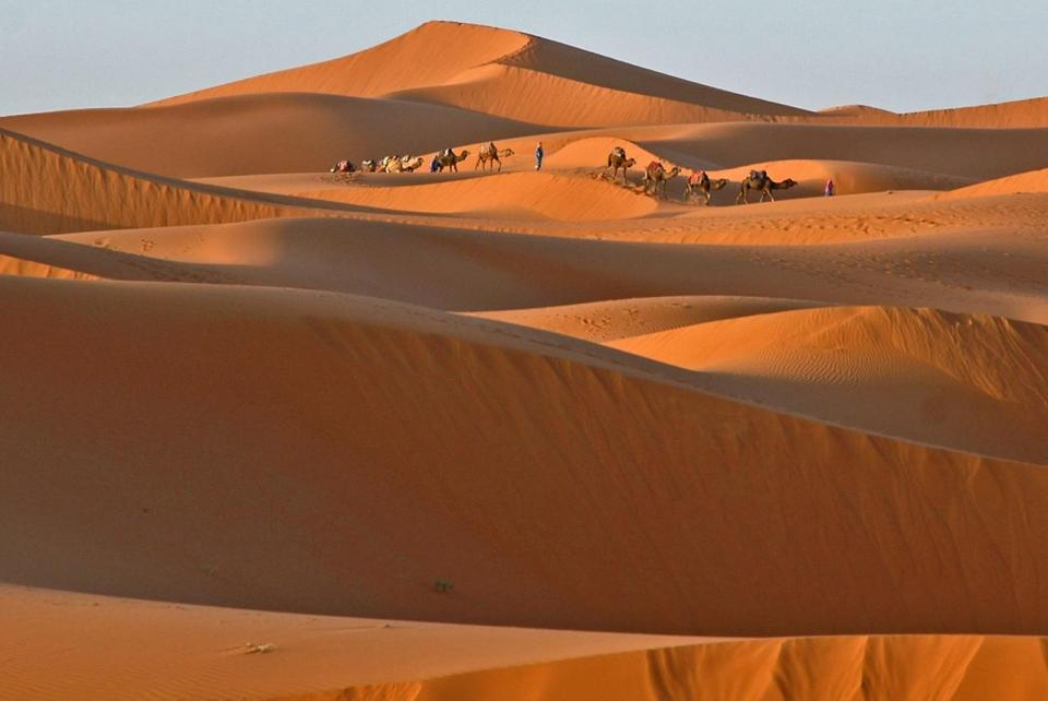 Пустыня Эрг-Шебби