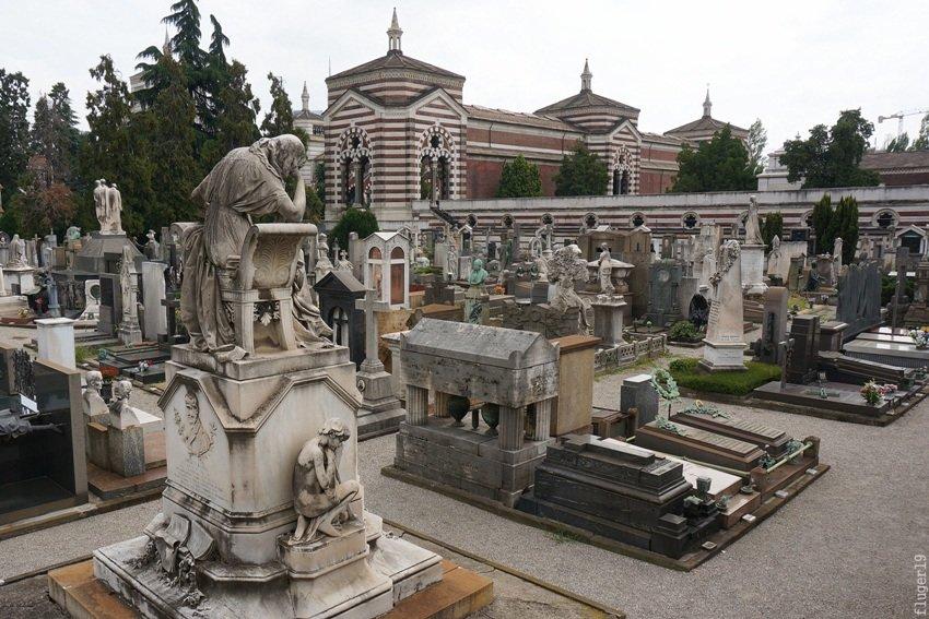 Кладбище в Милане