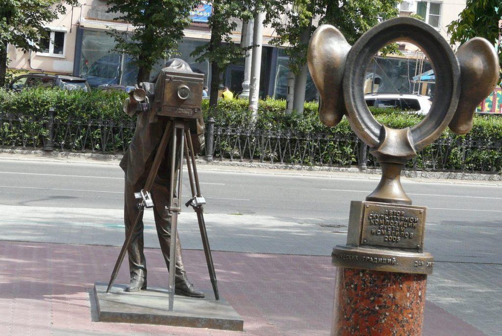 Монумент Соленые уши Пермяка