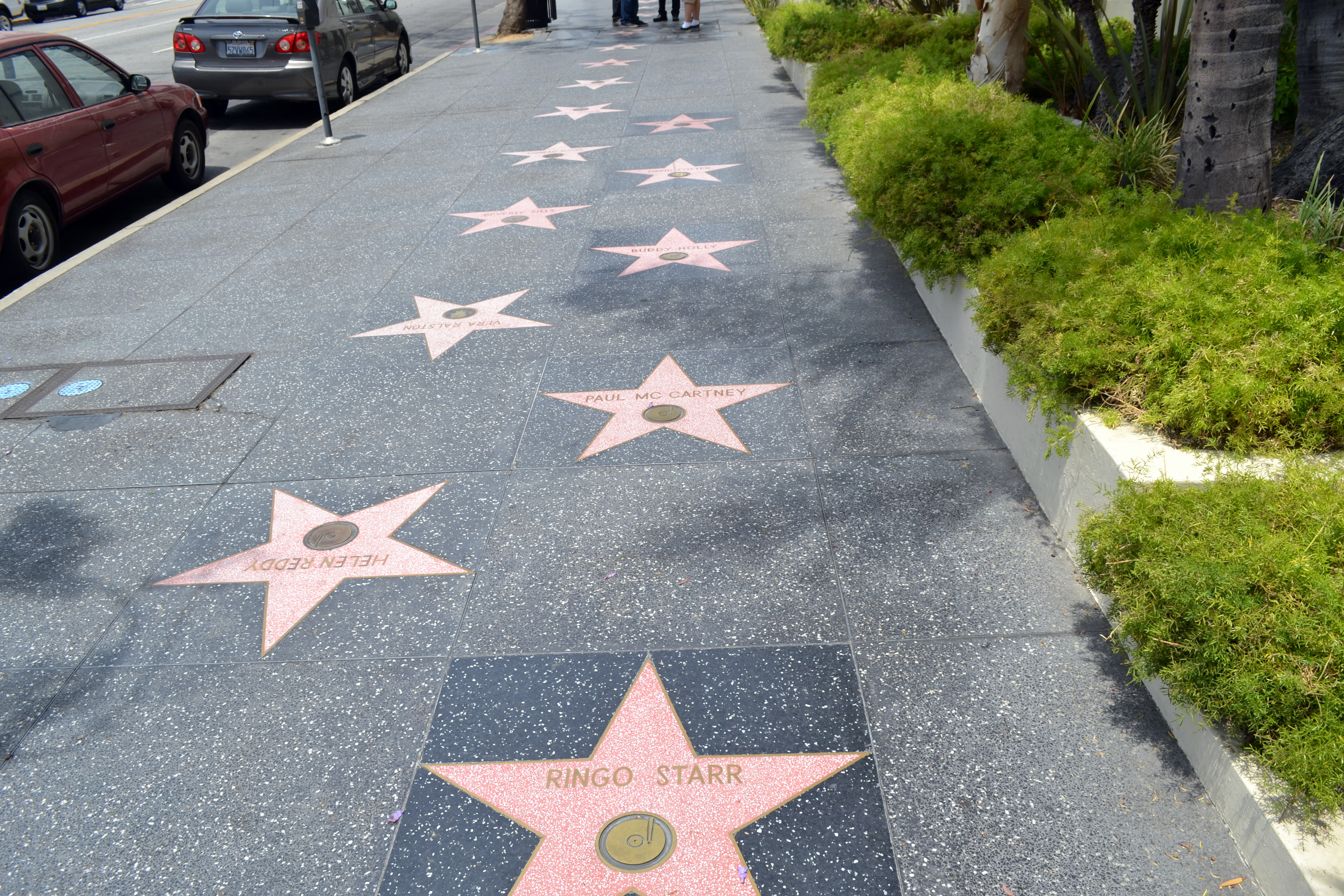 Аллея звезд и славы в Голливуде