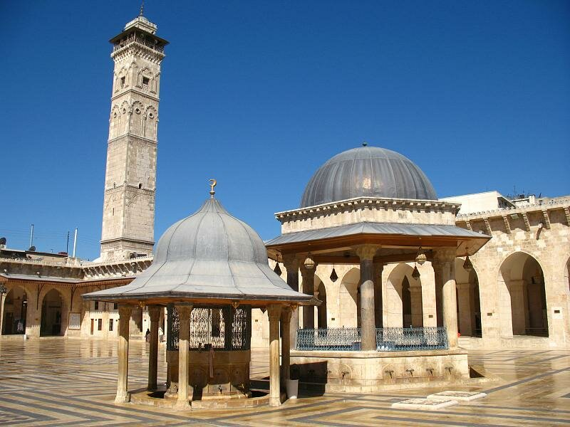 Великая мечеть в Алеппо