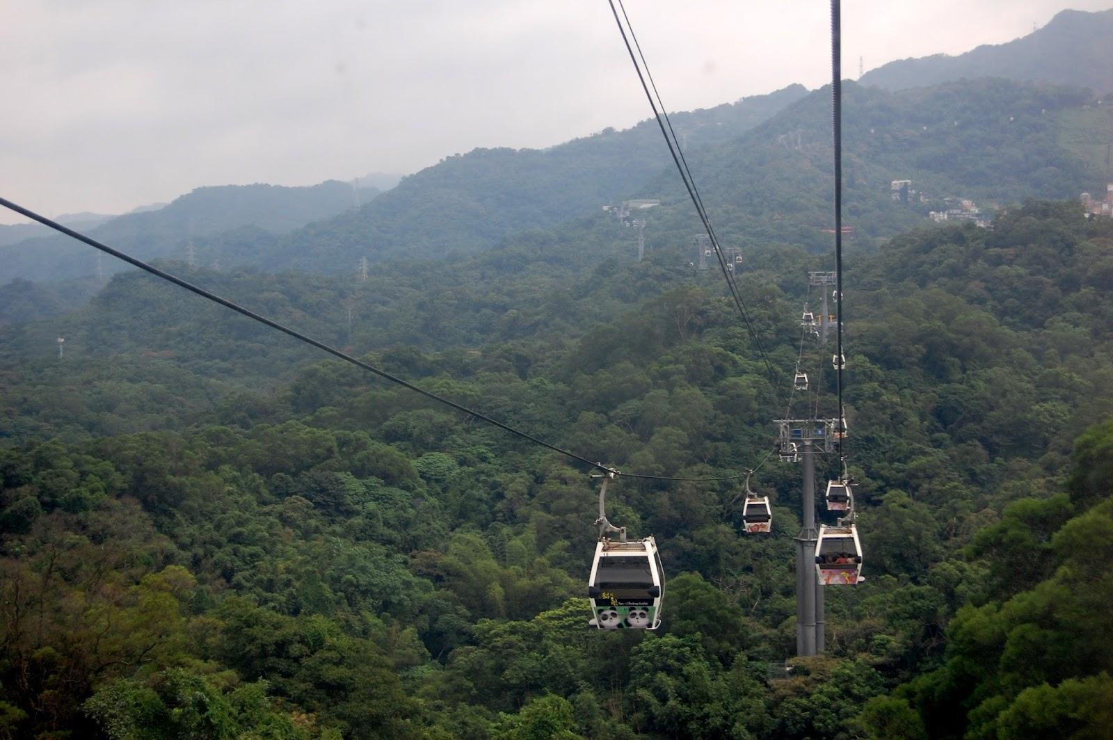 Канатная дорогая Maokong mountain