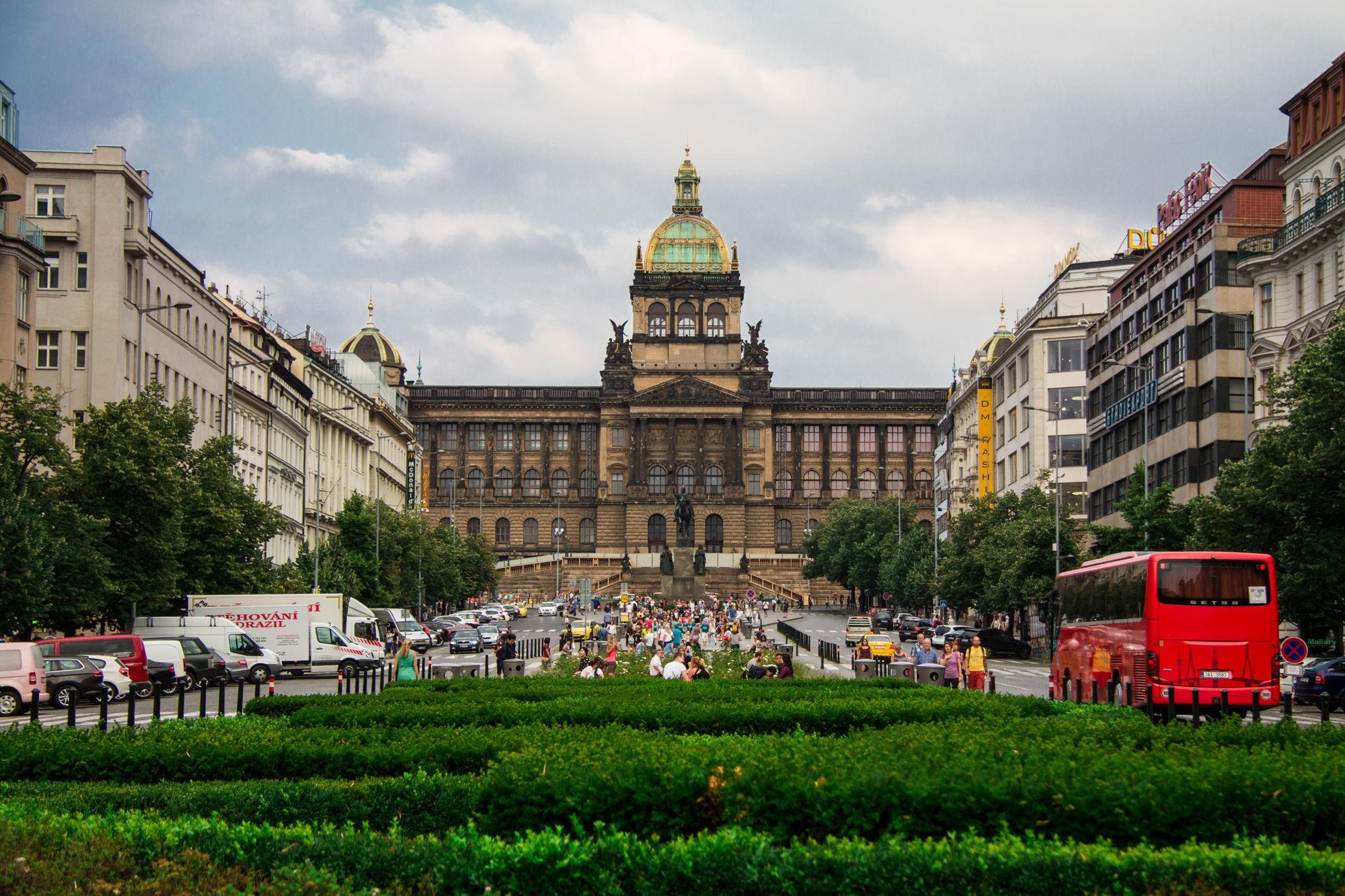 Городская Вацлавская площадь
