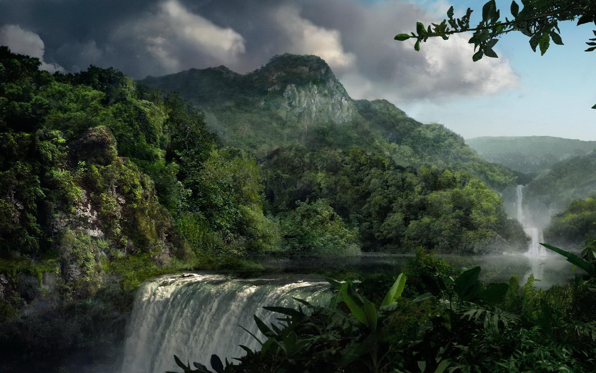 Тропические острова Амазонки