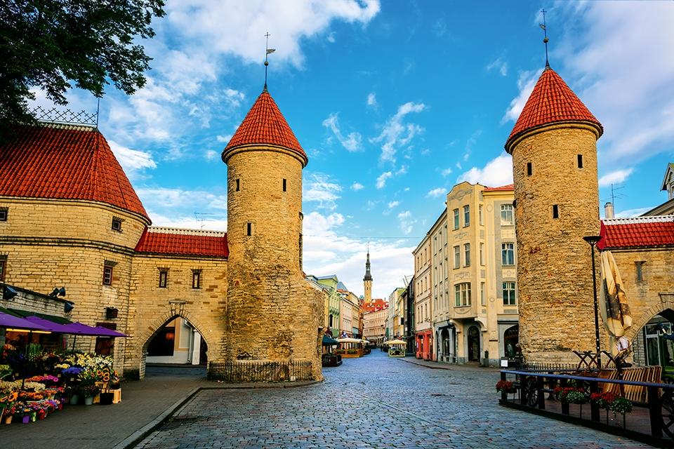 Старый город Таллин