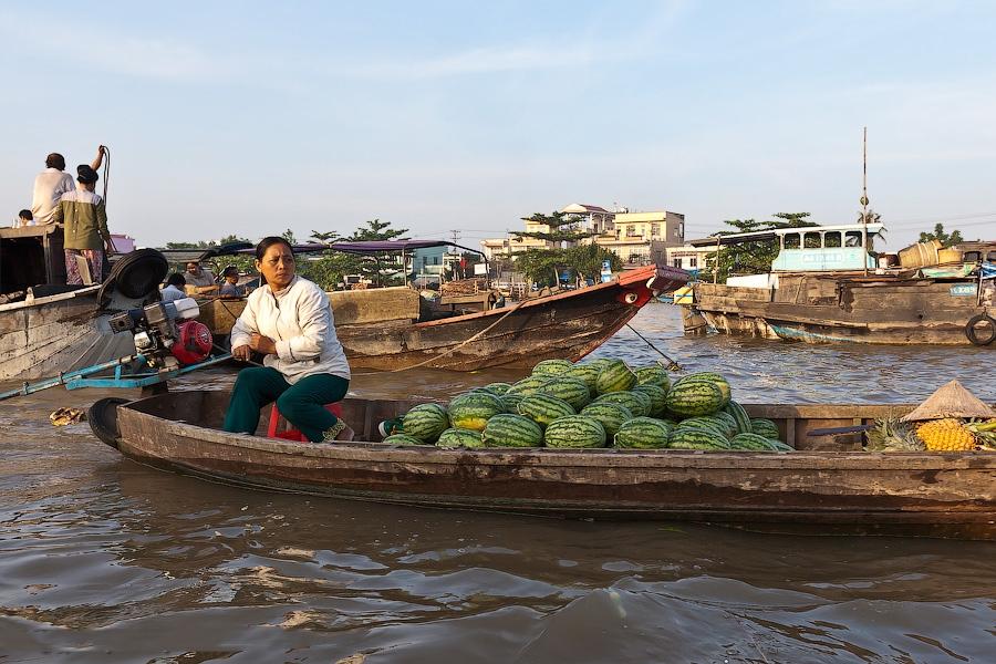 Плавучий рынок Кайранг