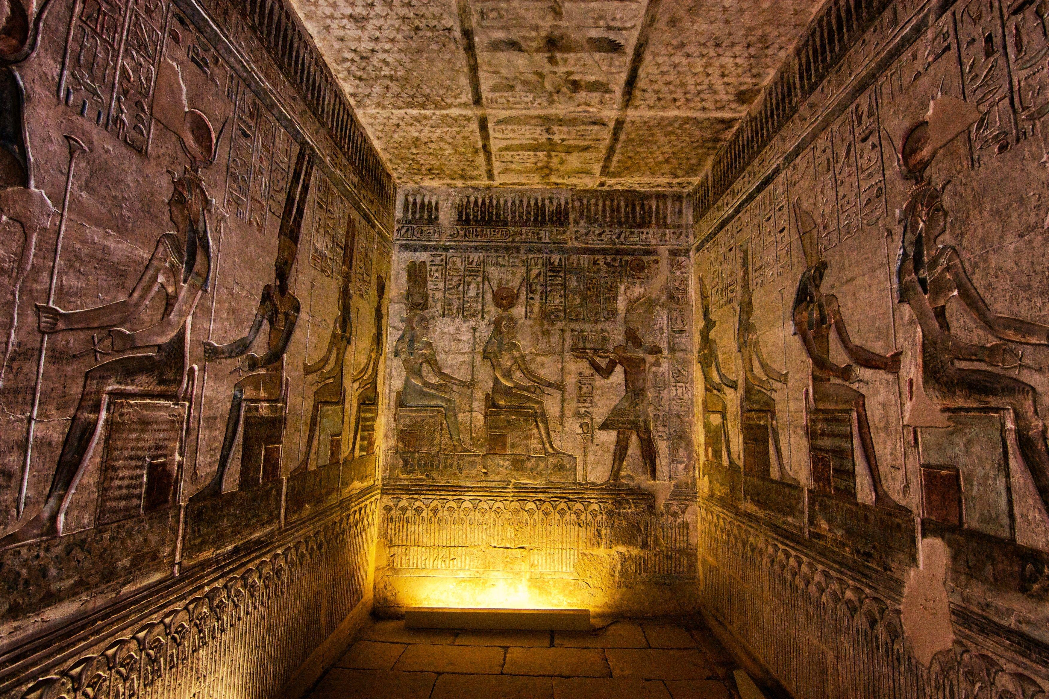 Гробницы в Египте