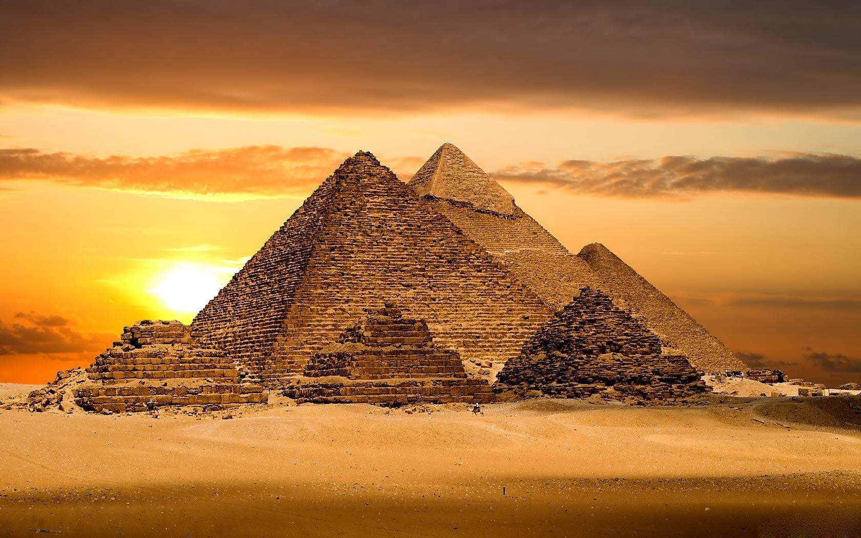 Самые удивительные египетские пирамиды