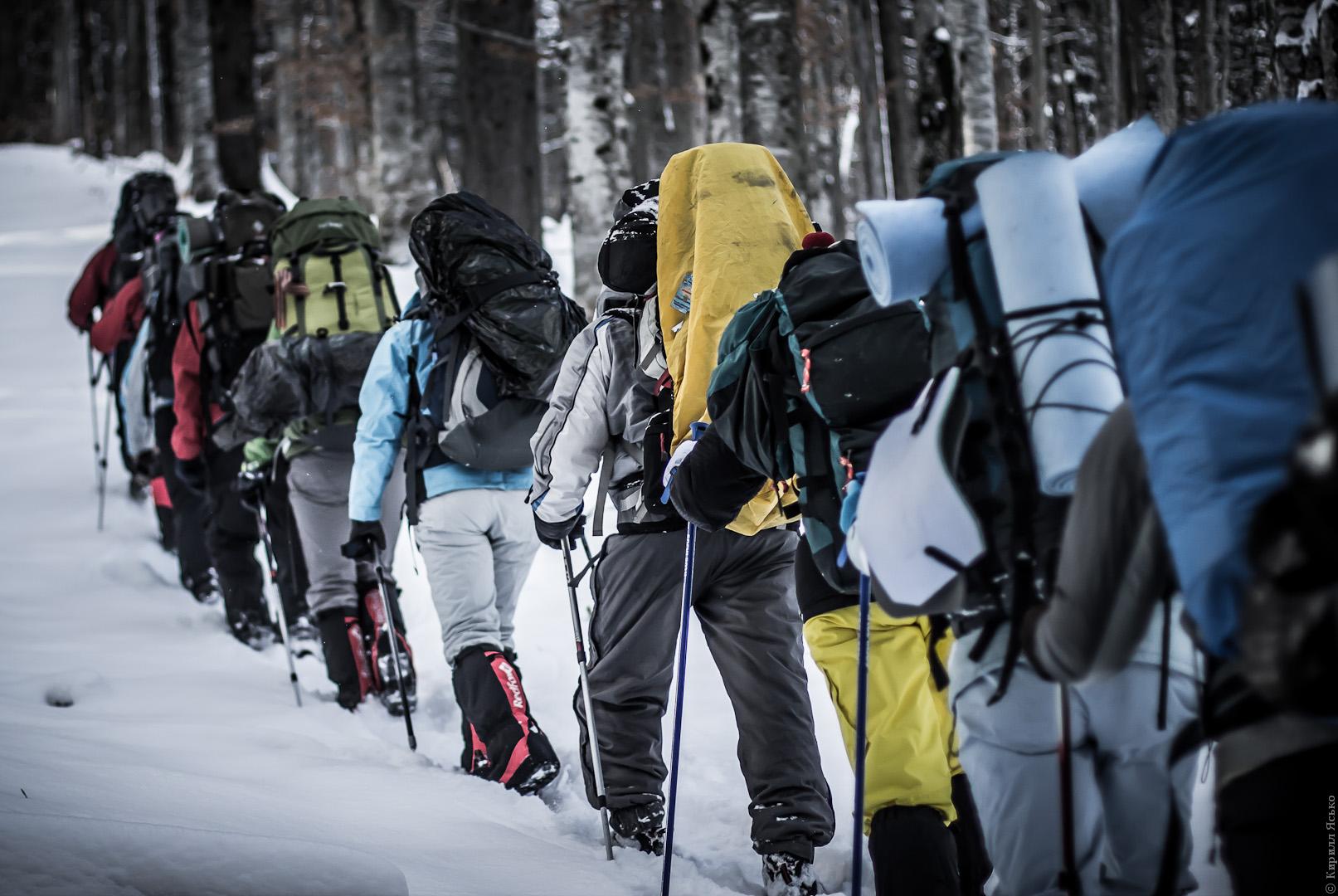 Как выбрать снаряжение для зимнего похода