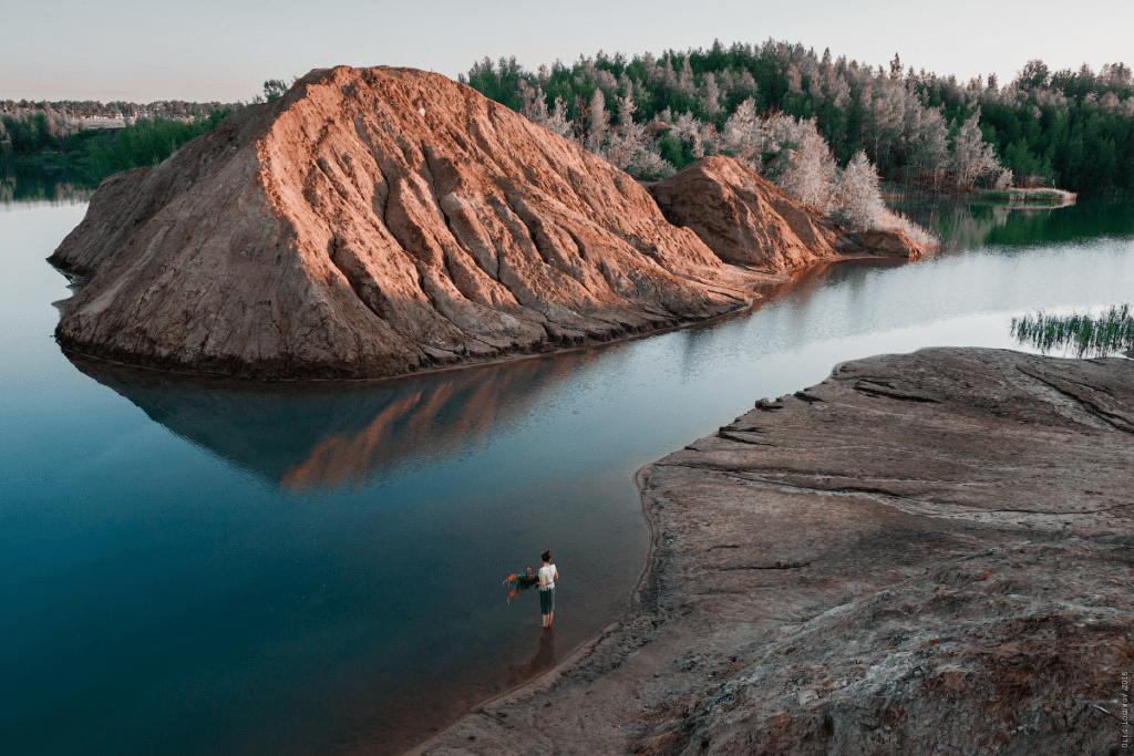 тульская область деревня кондуки голубые озера